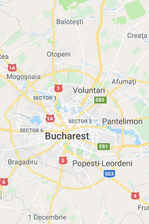 bucharest rent a car address